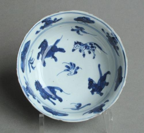 Chinese late Ming ko-sometsuke bowl, Tianqi