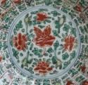 Chinese famille verte saucer hare mark Kangxi - picture 2