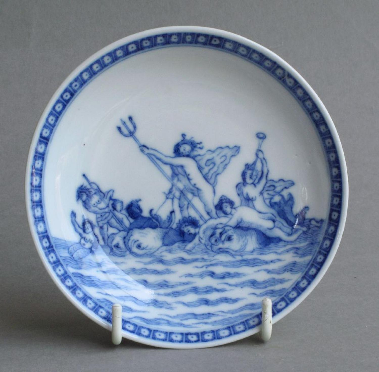 A Chinese export mythological scene saucer