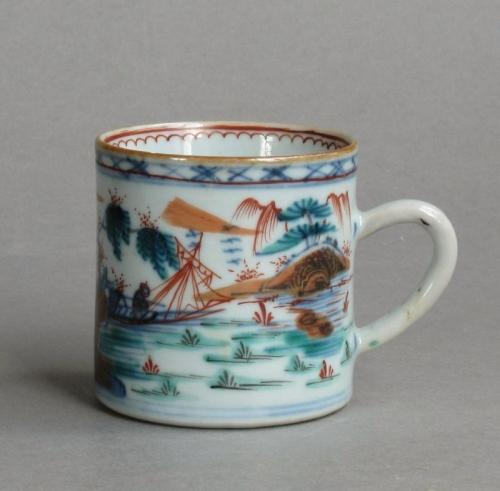 Dutch-decorated Chinese export can