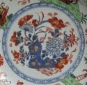 Good Cherry Picker & Music Party dish c1740 - picture 2