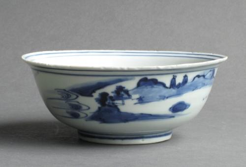 Shallow Chinese late Ming bowl, Tianqi