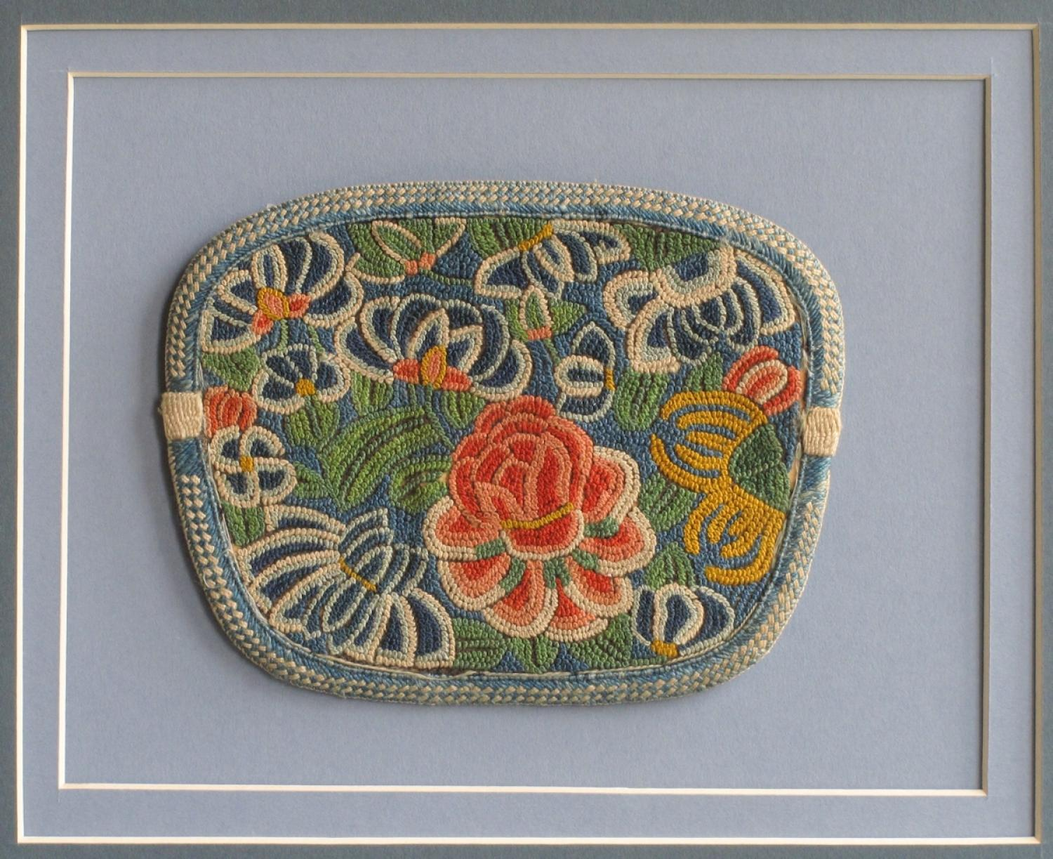 Embroidered Chinese purse