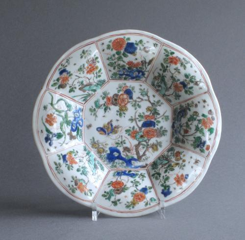 A good Chinese famille verte lobed dish