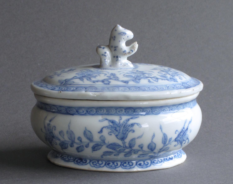 A rare Chinese export spice pot, Qianlong