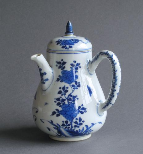 Chinese export chocolate pot, Kangxi