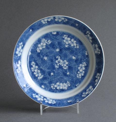 A good small Chinese plate, Kangxi