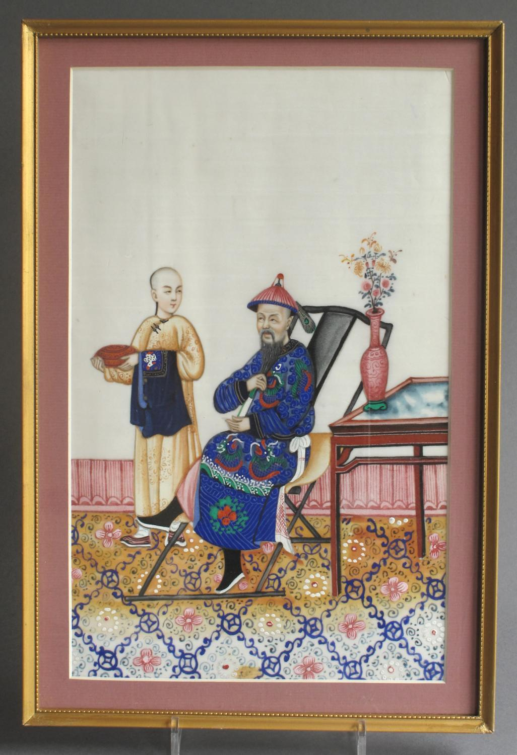 A good C19th Chinese pith picture (3 of 3)