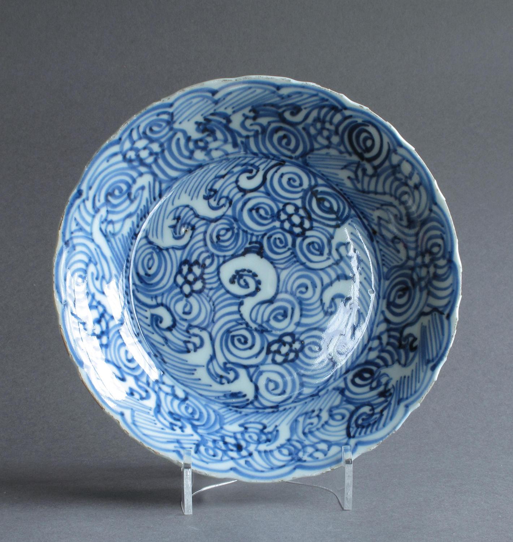 A Shunzhi or early Kangxi dish