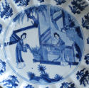A good Kangxi 'Long Eliza' plate - picture 2