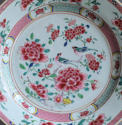 Chinese export famille rose plate, Qianlong - picture 2