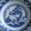 Chinese dragon and carp plate, Kangxi - picture 2