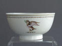 A small Chinese armorial bowl, Qianlong - picture 3