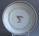 A Chinese armorial coffee cup & saucer Qianlong - picture 2