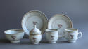 A Chinese armorial twin handled cup Qianlong - picture 4