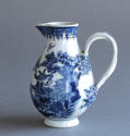 A Chinese export cream jug with double strap handle, Qianlong - picture 1