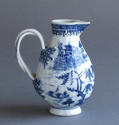 A Chinese export cream jug with double strap handle, Qianlong - picture 3