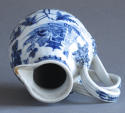 A Chinese export cream jug with double strap handle, Qianlong - picture 6