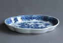 A Chinese export underglaze blue spoon tray, Qianlong - picture 3