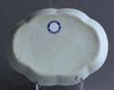 A Chinese export underglaze blue spoon tray, Qianlong - picture 4