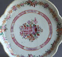 A Chinese export famille rose teapot stand, Qianlong - picture 2