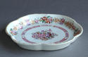 A Chinese export famille rose teapot stand, Qianlong - picture 3