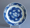 A Chinese 'prunus and cracked ice' plate, Kangxi - picture 1