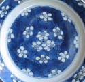 A Chinese 'prunus and cracked ice' plate, Kangxi - picture 2