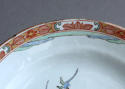 A Dutch-decorated Chinese plate with Japanese scene c1720 - picture 8