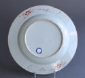 A Chinese famille verte plate with pine and lingzhi fungus, Kangxi - picture 5