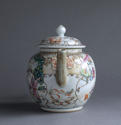 A Chinese export famille rose Mandarin style teapot Qianlong - picture 4