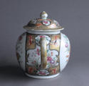 An unusual large Chinese export famille rose teapot - picture 3