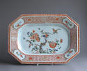 A Chinese export famille verte serving platter, Kangxi - picture 1