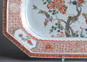 A Chinese export famille verte serving platter, Kangxi - picture 8