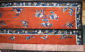 A Chinese late C19th silk altar cloth or bed hanging - picture 3