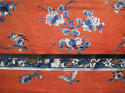 A Chinese late C19th silk altar cloth or bed hanging - picture 4