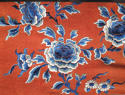 A Chinese late C19th silk altar cloth or bed hanging - picture 5