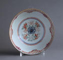 A Chinese bowl with Dutch decoration of people and rabbits, Qianlong - picture 4