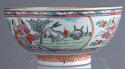 A Chinese bowl with Dutch decoration of people and rabbits, Qianlong - picture 7