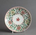 A Chinese famille verte saucer, Kangxi - picture 1