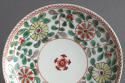 A Chinese famille verte saucer, Kangxi - picture 2