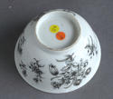 A Chinese export grisaille decorated teabowl and saucer, Qianlong - picture 7