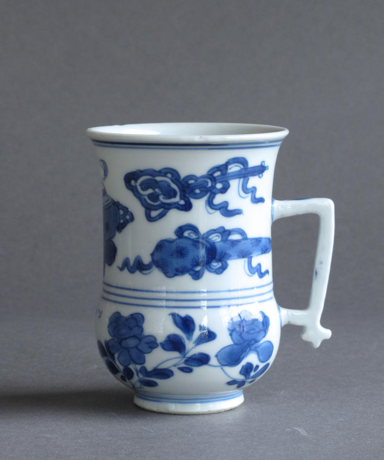A good small Chinese mug, Kangxi