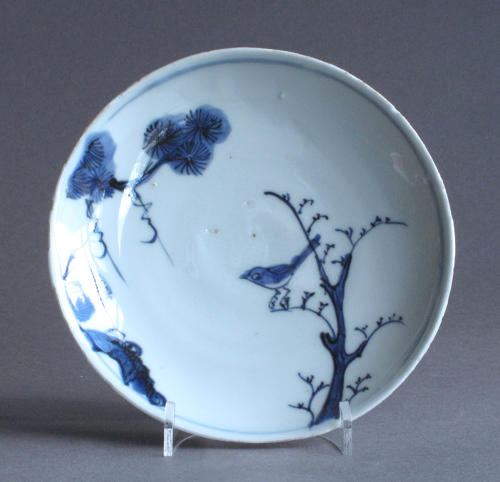 A Chinese dish for the Japanese market, late Ming