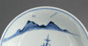 A good Chinese dish with landscape, early Kangxi - picture 3