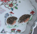 A Chinese famille rose '2 quail' teapot stand, Qianlong - picture 3
