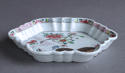 A Chinese famille rose '2 quail' teapot stand, Qianlong - picture 5