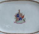An attractive pair of Chinese export armorial platters, Jiaqing - picture 7