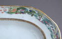 An attractive pair of Chinese export armorial platters, Jiaqing - picture 8