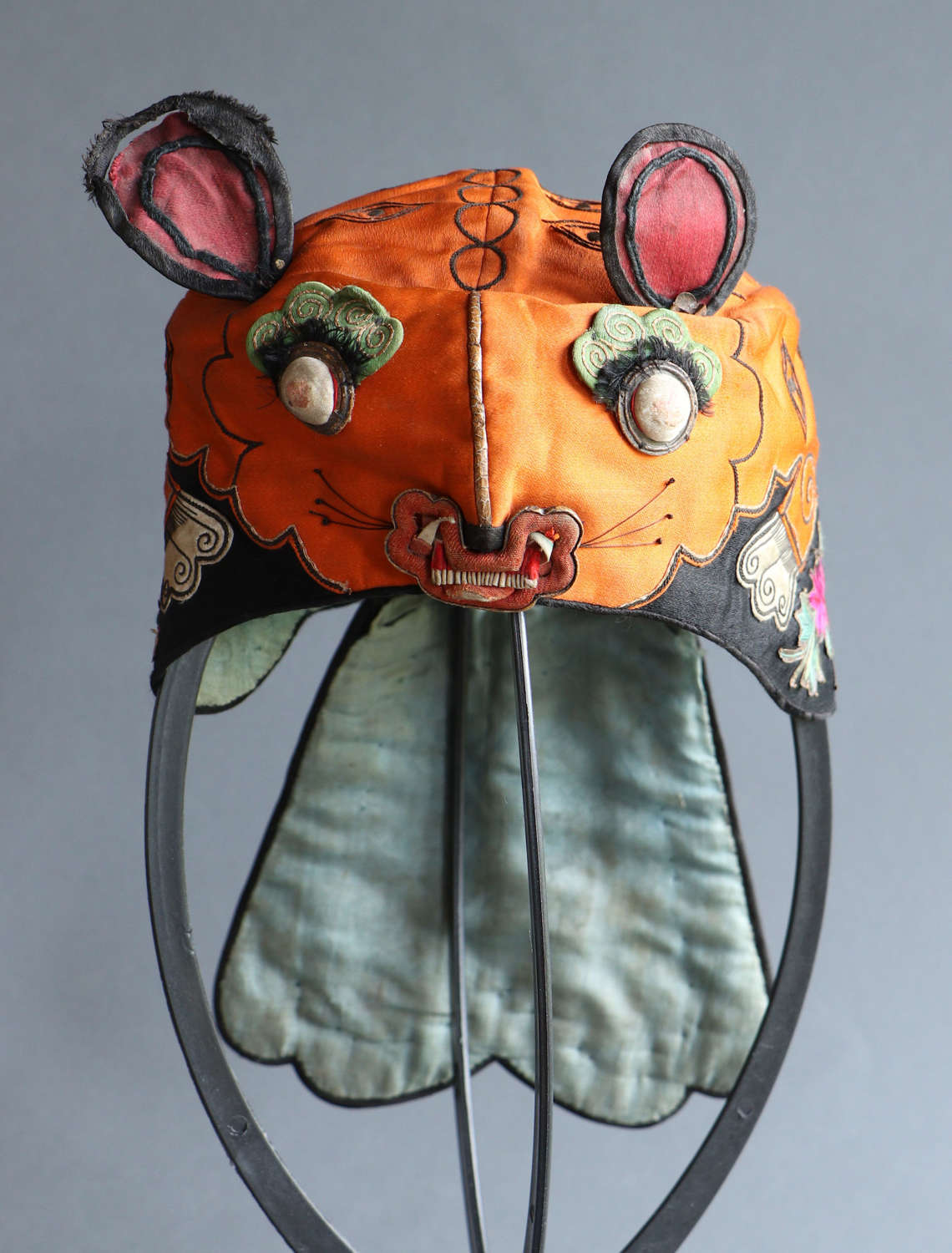 An early 20th century Chinese boy's tiger hat